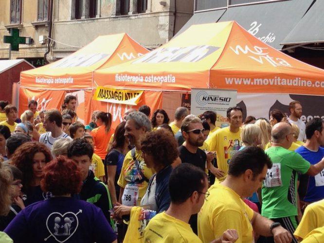 Movita fisioterapia osteopatia alla Maratonina Città di Udine 2013_6