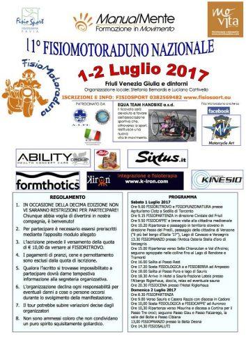 fisiomotoraduno 2017 Movita Udine